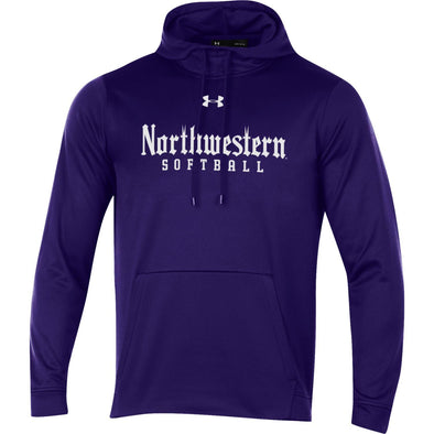 Northwestern Wildcats Softball Purple Gothic Hood