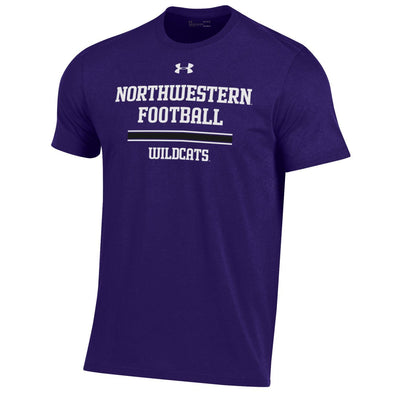 Northwestern Wildcats Under Armour Football Sideline Tee-Youth