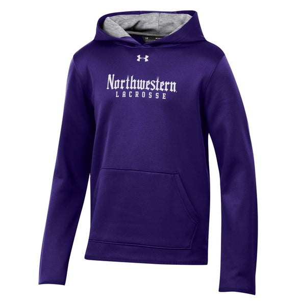 Northwestern Wildcats Under Armour Youth Lacrosse Gothic Hood-Purple