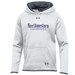 Northwestern Wildcats Under Armour Youth Lacrosse Gothic Hood-White