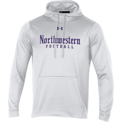Northwestern Wildcats Gothic Football Hood-White