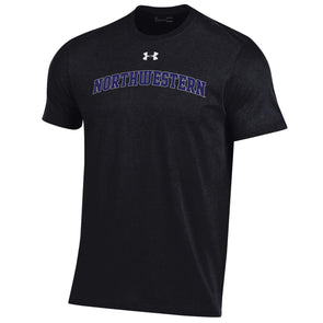 Northwestern Wildcats Under Armour Classic Arch-Black