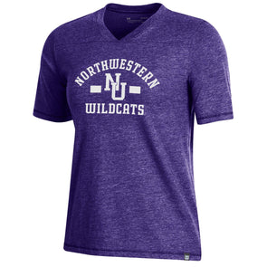 Northwestern Wildcats Under Armour Ladies Legacy Tee
