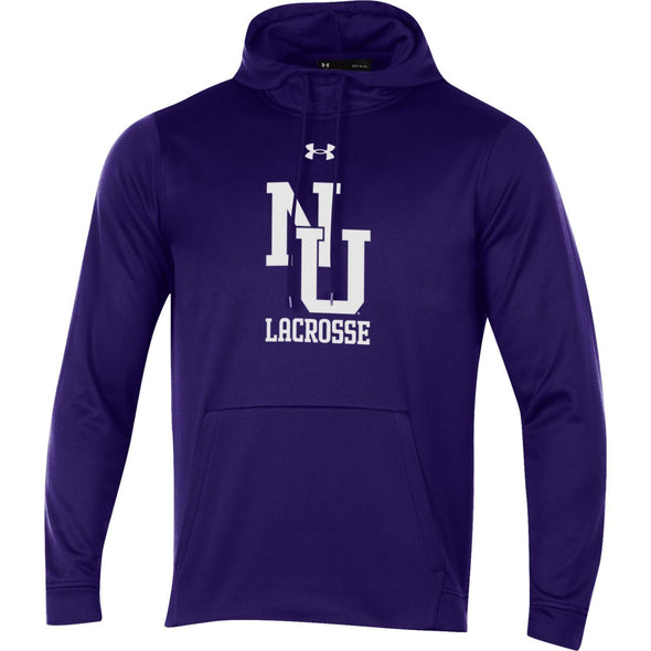 Northwestern Wildcats Under Armour Old School Lacrosse Hood