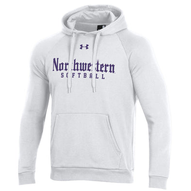 Northwestern Wildcats Under Armour White Gothic Softball Hood