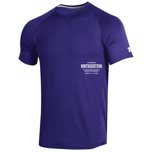Northwestern Wildcats Under Armour Latitude Tee