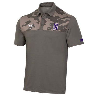 Northwestern Wildcats Under Armour Military Appreciation Polo