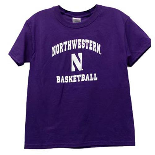 Northwestern Wildcats Basketball Youth Gameday T-Shirt