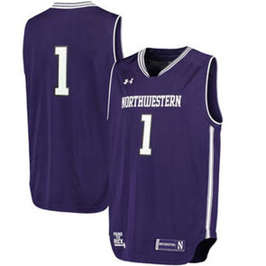 Northwestern Wildcats Under Armour® Replica Youth Basketball Performance Jersey - Purple