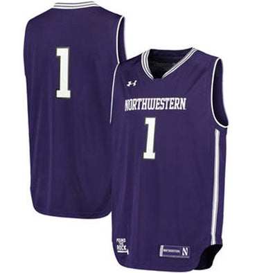 Northwestern Wildcats Under Armour® Replica Basketball Performance Jersey - Purple