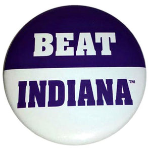 Northwestern Wildcats Beat Indiana Button