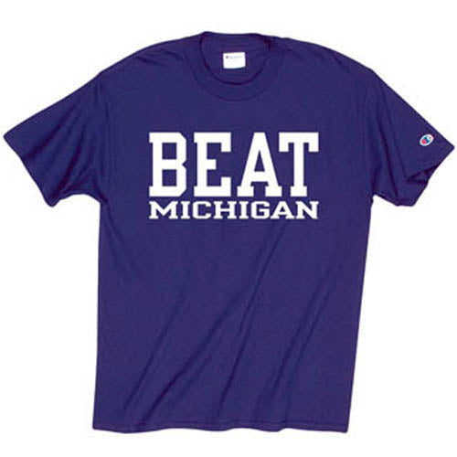 Northwestern Wildcats Beat Michigan T-Shirt