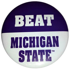 Northwestern Wildcats Beat Michigan State Button