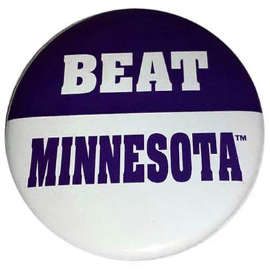 Northwestern Wildcats Beat Minnesota Button