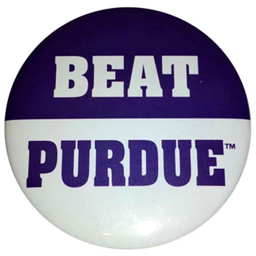 Northwestern Wildcats Beat Purdue Button
