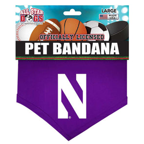 Northwestern Wildcats Pet Bandana