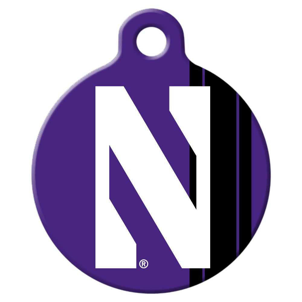 Northwestern Wildcats Dog Tag