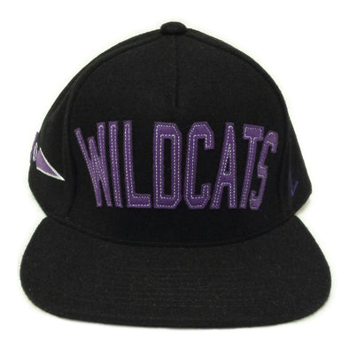 Northwestern Wildcats Big Cat Flat Bill Hat