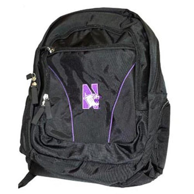 Northwestern Wildcats Black Backpack