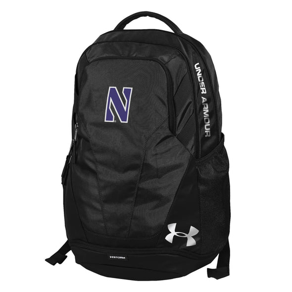 Northwestern Wildcats Under Armour® Hustle Backpack - Black