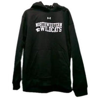 Northwestern Wildcats Under Armour® Black Cold Gear Hoodie