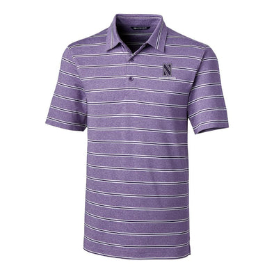 Northwestern Wildcats Cutter & Buck Forge Polo
