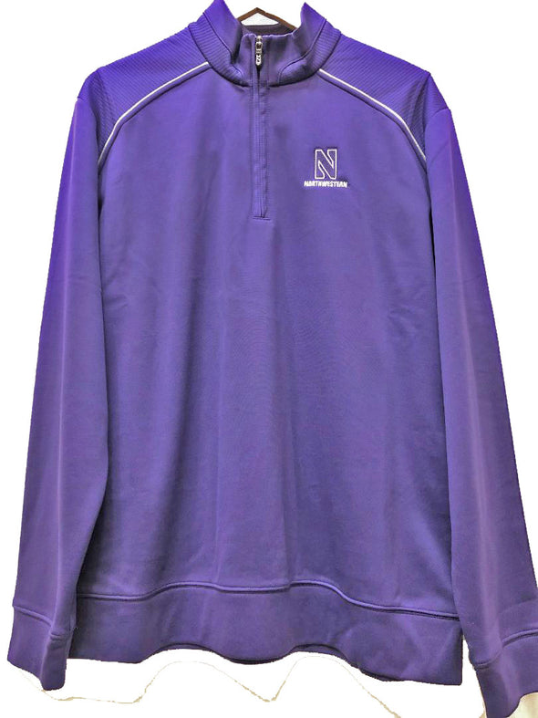 Northwestern Wildcats Cutter & Buck Aspen 1/4 Zip