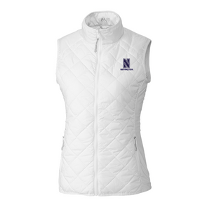Northwestern Wildcats Ladies Cutter & Buck Sandpoint Quilted Vest