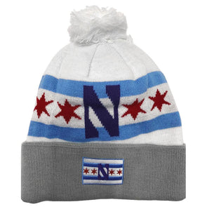Northwestern Wildcats Chicago's Big Ten Team Knit Hat