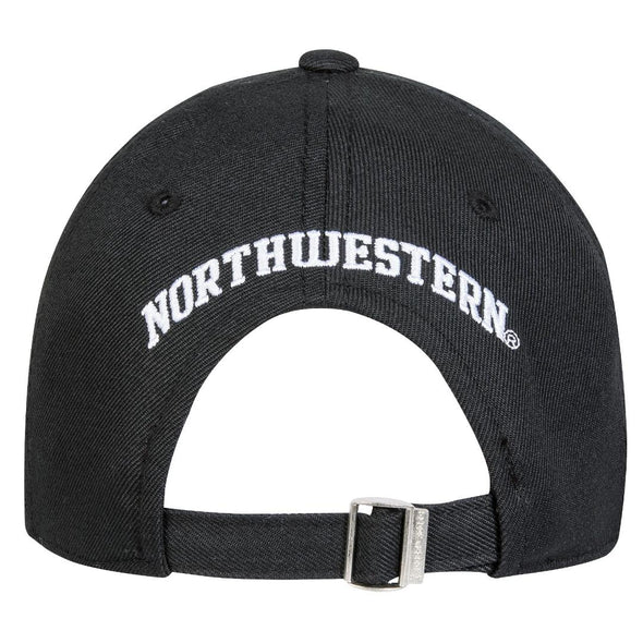 Northwestern Wildcats Under Armour Classic Cap-Black