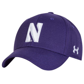 Northwestern Wildcats Under Armour Classic Cap-Purple