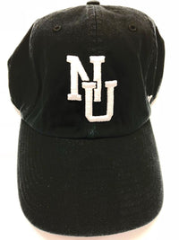 Northwestern Wildcats Old School Black Clean Up