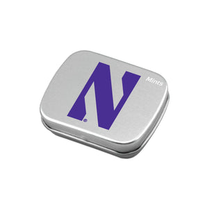 Northwestern Wildcats Large Mint Tin w/ Sugar-Free Peppermint Candy