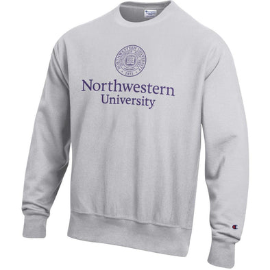 Northwestern Wildcats Champion Collegiate Reverse Weave Crew