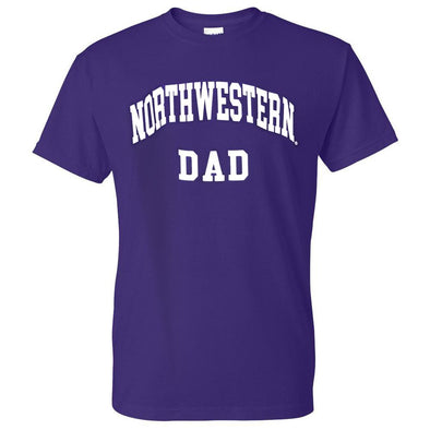Northwestern Wildcats Dad Tee