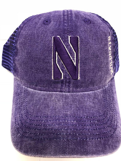 Northwestern Wildcats Dashboard Trucker Hat