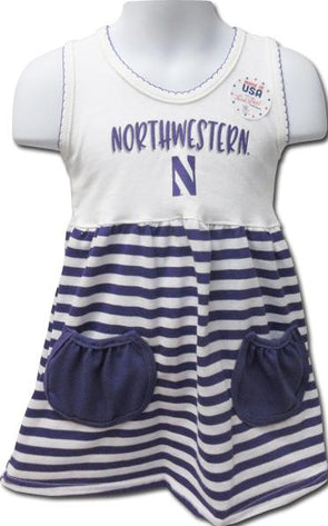 Northwestern Wildcats Infant Dress