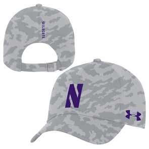 Northwestern Wildcats Under Armour Novelty Print Adjustable Cap