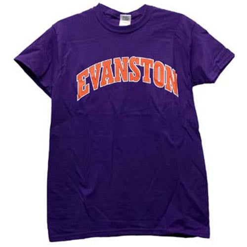 Northwestern Wildcats Purple Evanston T-Shirt