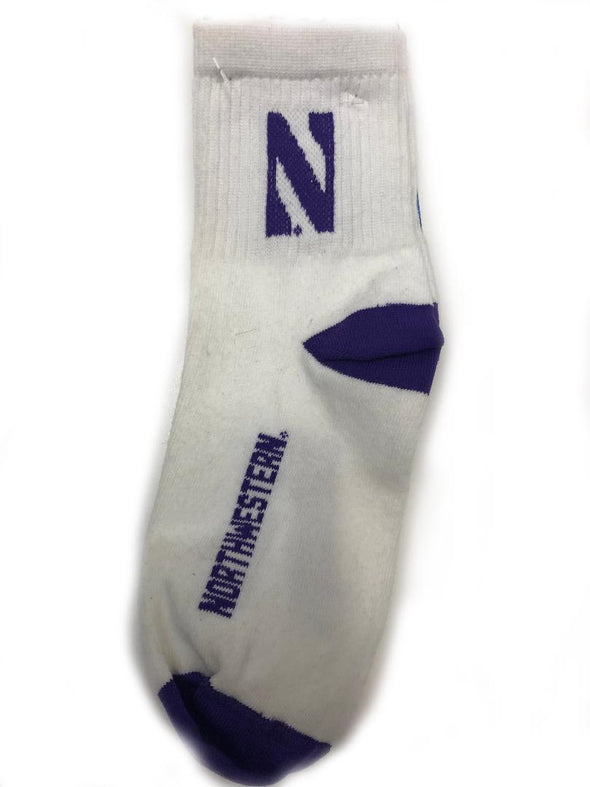 Northwestern Wildcats Youth Campus Sock