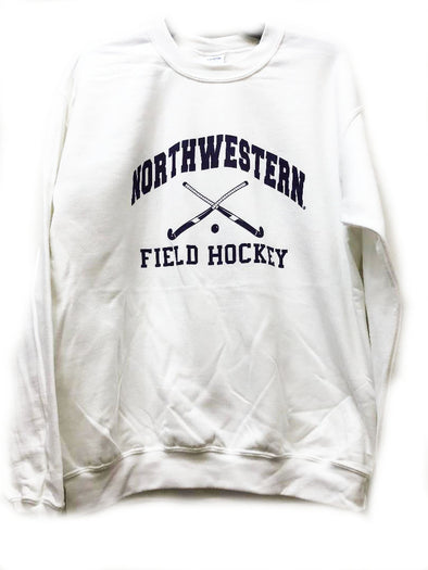 Northwestern Wildcats White Field Hockey Crew