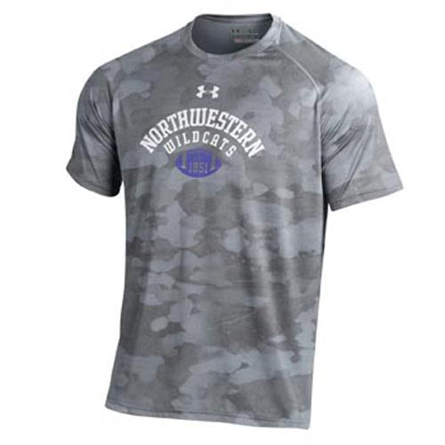 Northwestern Wildcats Under Armour® Football Novelty T-Shirt
