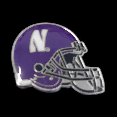 Northwestern Wildcats Football Helmet Pin
