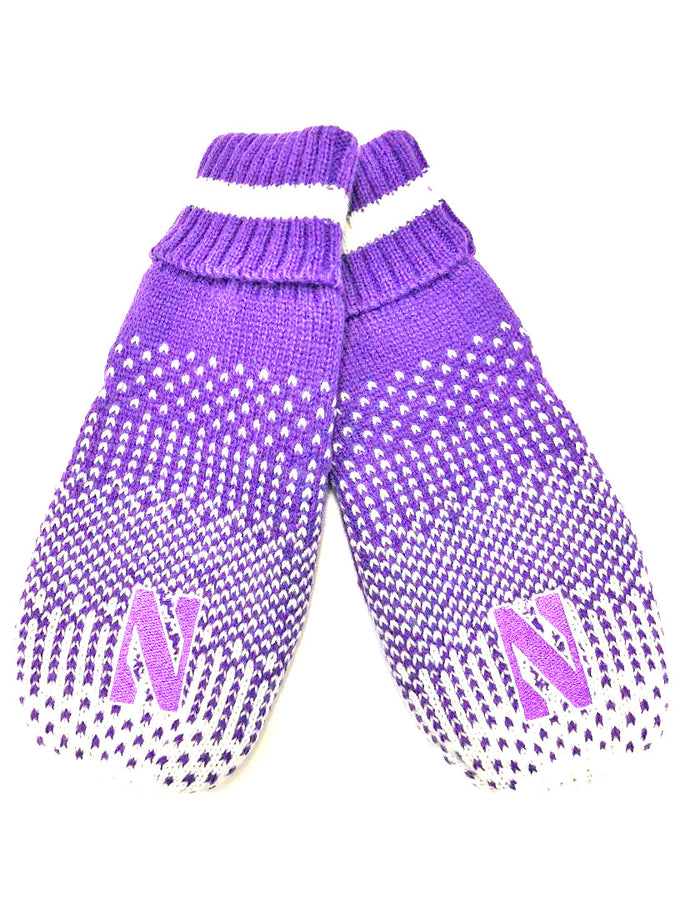 Northwestern Wildcats Frosty Mittens
