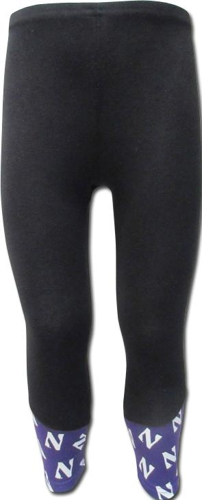 Northwestern Wildcats Girls Leggings