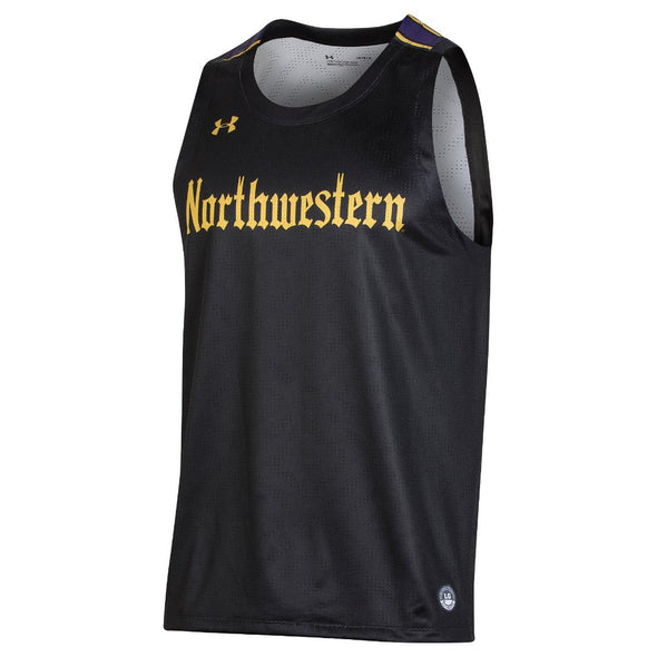 Northwestern Wildcats Gothic Basketball Jersey