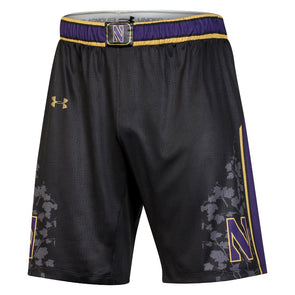 Northwestern Wildcats Gothic Basketball Shorts