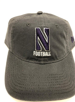 Northwestern Wildcats Grey Football Cap