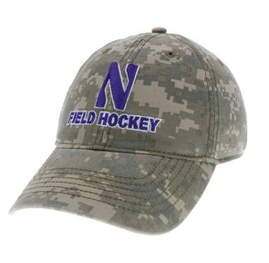Northwestern Wildcats Camo Field Hockey Cap
