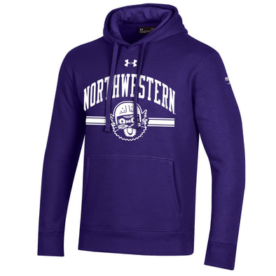 Northwestern Wildcats Under Armour College Football 150th Anniversary Retro Purple Hood